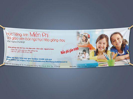 Công ty nào treo băng rôn quảng cáo uy tín tại TPHCM?
